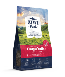 ziwipeak provenance otago valley dog food bag