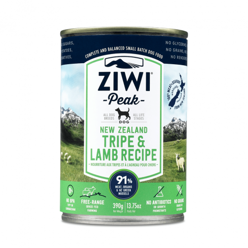 Ziwi Peak Wet Canned Lamb & Tripe Dog Food